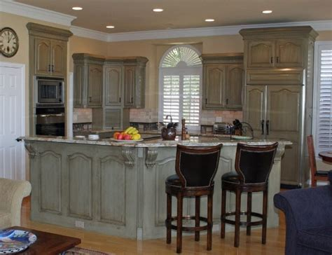 before and after kitchen cabinets painted kitchen cabinets before after traditional kitchen 9087