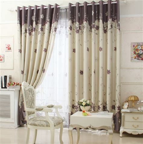 printed curtain fabric blackout curtains bedroom curtain