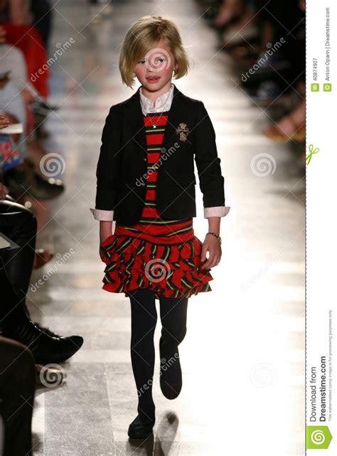 york ny    model walks  runway