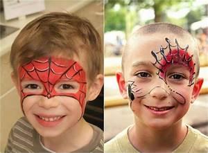 Maquillage Enfant Facile : maquillage halloween 99 inspirations pour le visage ~ Melissatoandfro.com Idées de Décoration