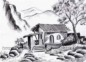 Pencil Drawings: Landscape Pencil Drawings