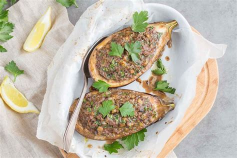 cuisine addict eggplant stuffed with lemon cuisine addict