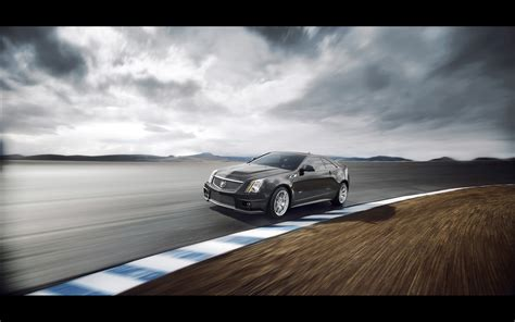 2018 Cadillac Cts V Coupe Motion 1 2560x1600 Wallpaper