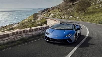Lamborghini Huracan Performante Spyder Lake Como Cars