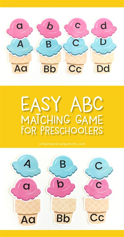 letter recognition for preschoolers 363 | preschool alphabet game pin image