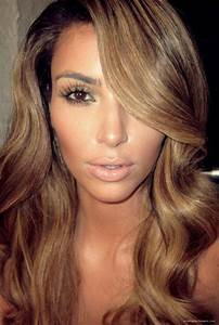 Image Gallery kim kardashian honey blonde