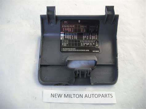 Nissan Fuse Box Cover by 68964 4u000 A Genuine Nissan Almera Tino Interior Fuse Box