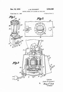 Patent Us3548280 - Control Means For Blender Or The Like