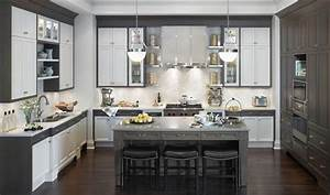 white and gray kitchen ideas kitchentoday With gray and white kitchen designs