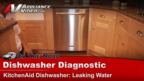 Maker Leaking Water On Floor by Dishwasher Leaking Water On Floor Whirlpool Kitchenaid