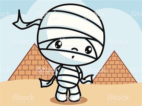 Mummy Cartoon Stock Vector Art & More Images Of Activity