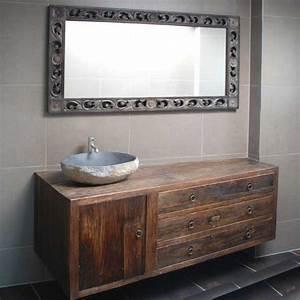 Waschtische Für Badezimmer : massivholz waschtische waschtisch unterschrank aus teak ~ Michelbontemps.com Haus und Dekorationen