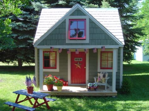 playhouse garden shed rabbit run cottage the story 171 to earth digs