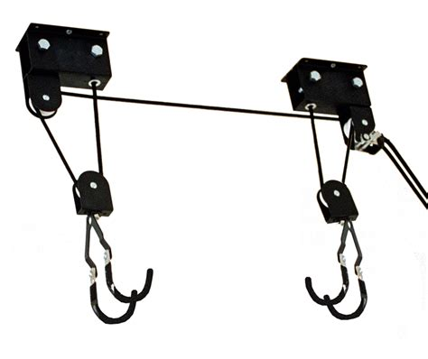 kayak and canoe hoist ceiling rack storeyourboard com