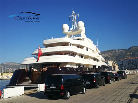 Chauffeur Limousine Service by Chauffeur Limousine Service Monaco Yacht Show Class