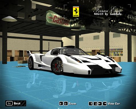 I hope my camera recorded the sound good. Ferrari Enzo MIG U1 by LRF Modding   Need For Speed Most Wanted   NFSCars