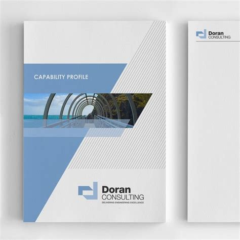 company profile cover page design template company profile report cover for engineering consultancy