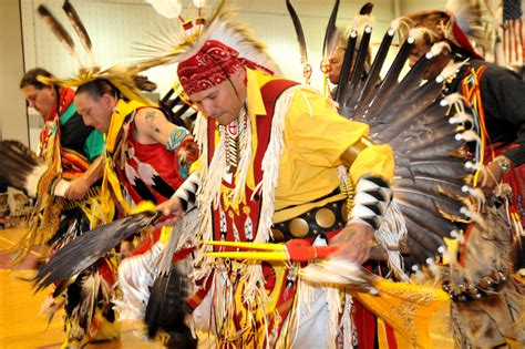 american indian powwow marks  year  honoring