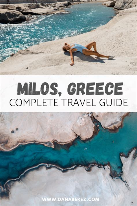 Ultimate Milos Greece Travel Guide Everything You Need