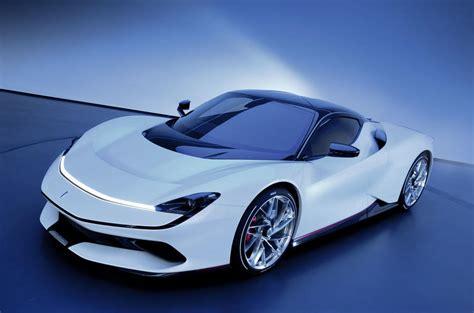 Fully Electric Sports Car by Look At Pininfarina Battista From The 2019 Geneva
