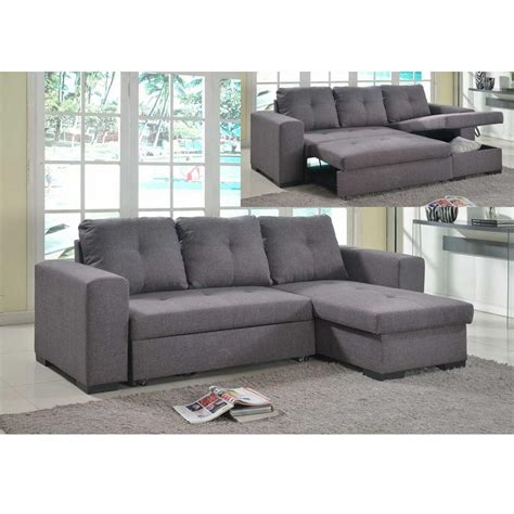 Corner Unit Settees by Luxor Fabric Sofa Bed Grey Allied Furniture