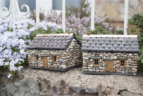 enchanted cottages forget me not cottage miniature