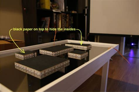 Diy Infinity Mirror Table Represents City's Bustling Nightlife