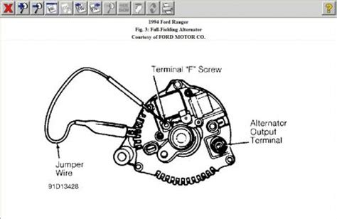 1998 Ford Ranger 4x4 Diagram by Starter Wire Diagram 1998 Ford Ranger 4x4 Ford Auto
