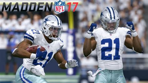 madden  divisional playoffs cowboys  seahawks youtube