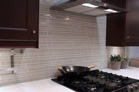 modern kitchen backsplash tile light taupe linear glass mosaic tile backsplash modern kitchen vancouver by rocky point tile