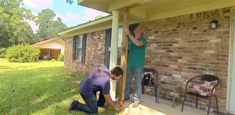 How To Replace Front Porch Columns by How To Remove And Replace A Wood Porch Column Today S
