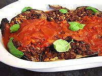 cuisine libanaise facile aubergines farcies façon libanaise supertoinette la