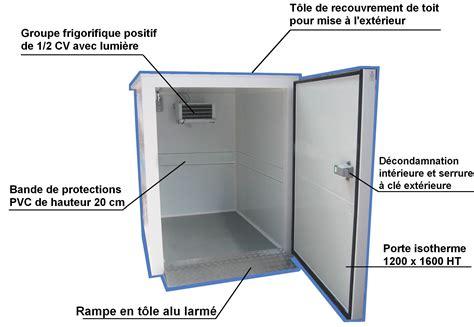 consommation chambre froide chambre froide négative vous permet de bien