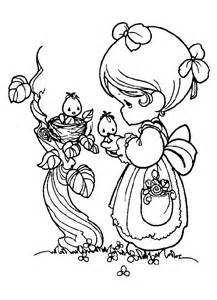 Precious Moments Coloring Pages Adult