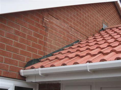 cavity tray lead flashing ridge tiling brick work