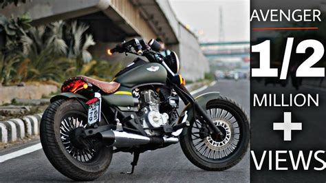 Modified Avenger Bike by Avenger Modified Into Harley Devidson Bikes