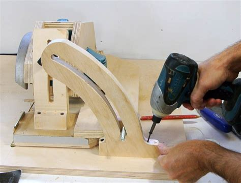 homemade table  angle lock  table  inserts