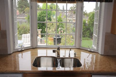 genius beautiful bay windows kashmir gold granite counter in a bay window yelp