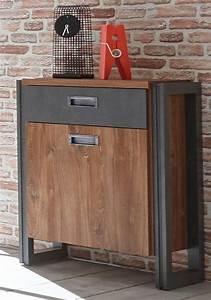 Kommode Industrial Look : home affaire kommode detroit 54 cm breit im angesagten industrial look online kaufen otto ~ Markanthonyermac.com Haus und Dekorationen