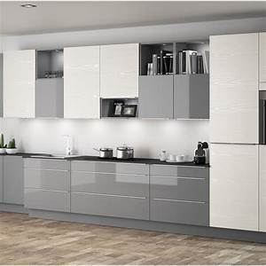 meuble de cuisine ingenious composition type albe leroy With facade meuble de cuisine leroy merlin