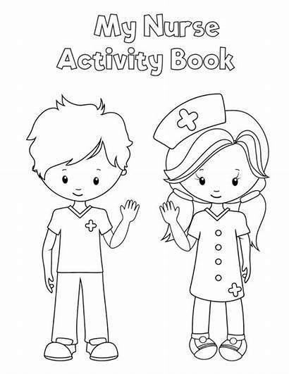 Preschool Printable Health Nurse Printables Activity Coloring