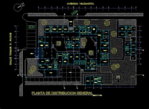 health center  high complexity dwg block  autocad