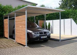 Design Carport Holz : openpr modern attraktiv und wartungsfrei die carports fahrradunterst nde und ger teh user ~ Sanjose-hotels-ca.com Haus und Dekorationen