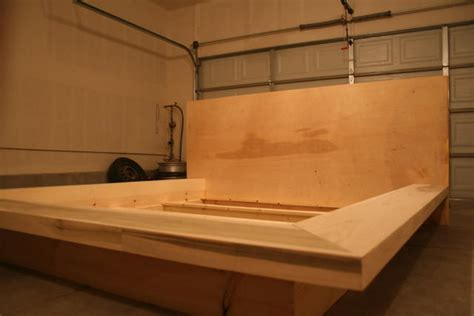 How To Build Platform Bed Frame With Storage