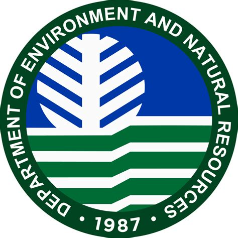 environmental bureau file seal of the department of environment and