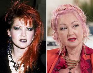 Cyndi Lauper | 80's pop stars then and now | Celebrity ...