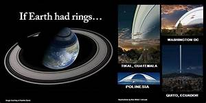 Here's What Earth Might Look Like With a Ring System