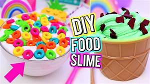 DIY Food Inspired SLIME! Crazy SLIME IDEAS You NEED TO TRY