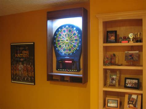 dart board cabinet lights dart board laser line