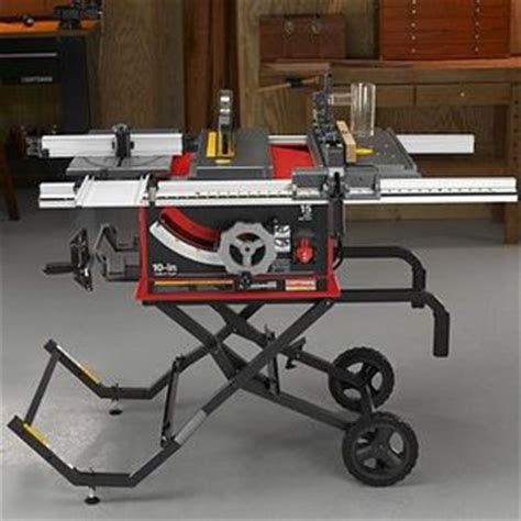 professional table saw reviews craftsman professional 10 inch portable table saw reviews